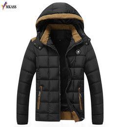 $enCountryForm.capitalKeyWord Australia - 2018 New Arrival Mens Winter Jackets and Coats Thicken Warm jacket Men Coat Hooded Cotton-Padded Male Clothing Hommer Parkas