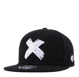 34501dbb285 DHL Unisex Snapback Adjustable Big X Anime Dad Hat Flat Bill Baseball Cap  un Trucker Hat