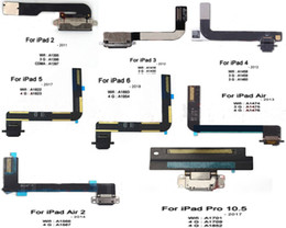 Ipad Charging Connector Australia - Original Jack Dock Connector usb Charger Charging Data Port Flex Cable Charging Port Flex for ipad 23456 air air2 mini1234 pro10.5 12.9