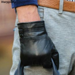 $enCountryForm.capitalKeyWord Australia - 2017 new autumn natural sheepskin gloves men single leather thin section of the men's leather gloves special meniscus