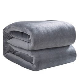 Mattress Bag Wholesale UK - 2018 bag high quality pure mattress blanket coral blankets can be used. Sofa. Bed cover and so on. Portable washing