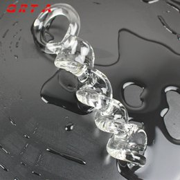 $enCountryForm.capitalKeyWord Australia - Anal Plug Transparent Glass Dildo Crystal Glass Butt Stopper Sex Toys for Women Men Gay Insert Massage Sex Product Adult Games Y18110504