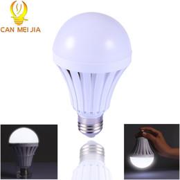 7w Energy Saving Bulb Australia - E27 LED Bulb Energy Saving Emergency Rechargeable Led Lamps 5W 7W 9W 12W B22 Led Lights Household Outdoor Lighting