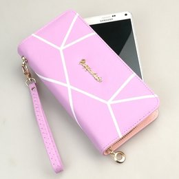 Discount ladies new stylish wallet - Women Wallet Purse Lady Long Bifold PU Leather Card Pocket New Style Design Hot Sale Stylish Cute Envelope Mobile Iphone