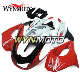 White abs thunderace online shopping - New Red Black White ABS Fairings For Yamaha YZF1000R Thunderace Injection Motorcycle Cowlings Bodywork