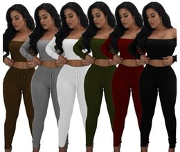 $enCountryForm.capitalKeyWord UK - pieces with Pants Sportswear Pin Letter Print Outfit Women's VS Tracksuit lady girls gym sports suits HOT Fashion Jogging set