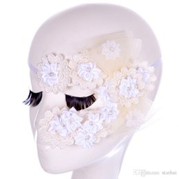 $enCountryForm.capitalKeyWord Australia - Sexy Flowers Lace Party Masks Girls Masquerade Mask Venetian Half Face Mask Christmas Halloween Cosplay Eye Masks Free Shipping WX-M15