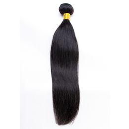 Fast unprocessed human hair online shopping - Human Hair Bundles Virgin Hair Straight Bundles Unprocessed Brazilian Malaysian Indian Peruvian Hair Weave DHL Fast Shipping