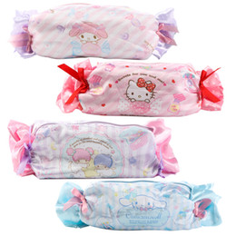 bac883d684 Cartoon Candy Hello Kitty My Melody Cinnamoroll Dog Pudding Dog Cosmetic  Bags Storage Travel Pouch Girl Makeup Bags Pencil Case