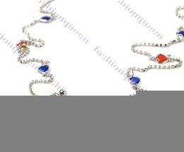 Venta al por mayor de Venta al por mayor-OP-2014 Nueva Europa y América Joyería de venta caliente Cadenas de oro de múltiples capas atractivas Cadenas del cuerpo de las borlas