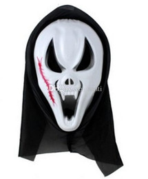 $enCountryForm.capitalKeyWord UK - Hot Scary Ghost Face Scream Mask Creepy for Halloween Masquerade Party Fancy Dress Costume