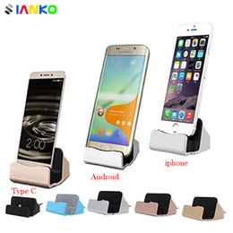 $enCountryForm.capitalKeyWord Canada - Original 2-in-1 Sync Data Fast Charging Dock Chargers Desktop Cradle Stand Docking Station For iPhone Android Micro USB Type C