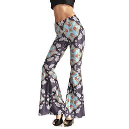c9ea4503b7 Yoga Pants Flare UK - Summer New Women Yoga Pants Yoga Bell-bottom Pants  Loose