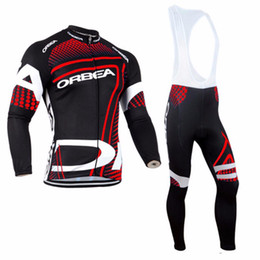 China spring autumn ORBEA Cycling jersey Anti UV Bib Pants Set ropa ciclismo Men Tour De France Cycling Clothing MTB bike sportswear supplier orbea mtb jersey suppliers