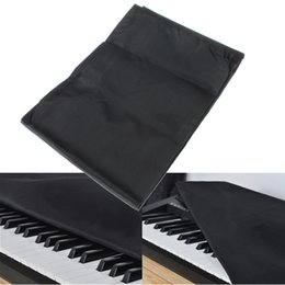 Wholesale 88 keys Electronic Piano Keyboard Cover Dustproof Layer Thickened Piano Cover Cases Instruments Black Protective Cover