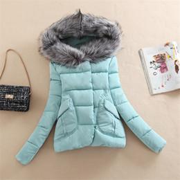 $enCountryForm.capitalKeyWord Australia - Womens Winter Jackets And Coats 2016 Faux Fur Collar Women's Parkas Ladies Down Cotton Padded Winter jacket Female Manteau Femme