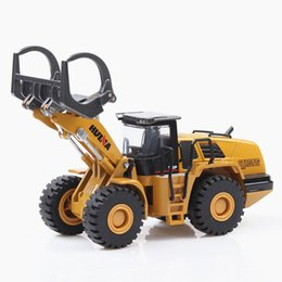 motorcycle collection UK - kids toys collection diecast 1 50 telehandler turbo construction truck engineering vehicles model gifts for kids