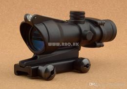 $enCountryForm.capitalKeyWord NZ - Tactical trijicon acog style 4x32 red optics fiber rifle scope hunting shooting M6884