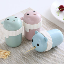 $enCountryForm.capitalKeyWord Australia - 1 Pc Cute Little MouseToothpick Box Toothpick Holder Dispenser Toothpick Storage Home Decoration