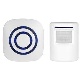 $enCountryForm.capitalKeyWord UK - Digital Wireless Doorbell Welcome Body Door Bell with PIR Sensor Infrared Detector Induction Alarm Home Security