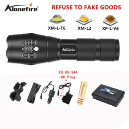 Flash Drive Fish Australia - AloneFire E17 10W high-power T6 zoom LED Flashlight 18650 3800lm LED Torch XM-L T6 led Focus zoom flash light