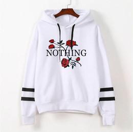 $enCountryForm.capitalKeyWord Australia - New Autumn Rose Hoodies Women Sweatshirts Hoodie Wholesale Pullovers Solid Hoodie Designer Hoody Womens