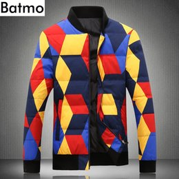 $enCountryForm.capitalKeyWord NZ - BATMO 2018 new arrival winter high quality printed 80% white duck down jackets men ,men's warm winter parkas Y18863
