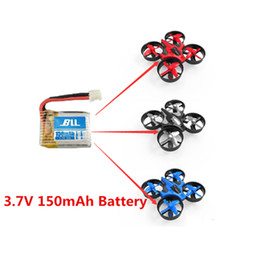 3.7v lipo charger 2021 - 5pcs 3.7V 150mAh Lipo Battery W  1 in 5 USB Charger For Eachine 010 JJRC H36 drone