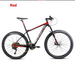 $enCountryForm.capitalKeyWord NZ - Free shopping 26 27.5inch carbon fiber mountain bicycle 27speed Shima fork oil disc brakes gas ultralight carbon fiber frame mt