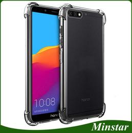 2128ca3da185 1.5mm TPU Bumper Air-Cushion Case For Huawei Honor 7A Y6 Y5 Y7 Y9 2018  Prime P9 P10 Lite P Smart 2019
