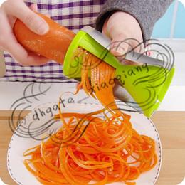 Julienne Cutters Spiral Australia - Vegetable Fruit Spiral Shred Process Device Cutter Slicer Peeler Kitchen Cooking Tool Twister Cuisine Julienne Cutter-01