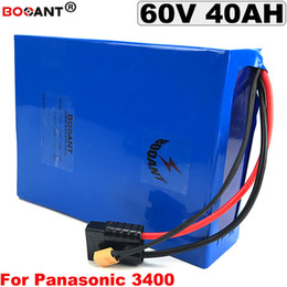 Motor Bicycles Australia - 60V 40AH Electric Bicycle Lithium Battery pack 16S 60V electric Scooter Battery pack For Bafang BBSHD 3000W Motor Free Shipping