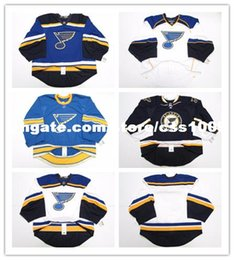 a1249ab2f LOUIS BLUES HOME AWAY THIRD EDGE 2.0 7287 JERSEY GOALIE CUT 58 ISSUED Mens  Stitched Personalized hockey Jerseys