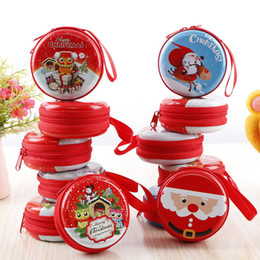 Discount noel christmas ornament - Christmas Tree Decorations Santa Snowman Coin Purse Candy Box Hanging Ornaments Christmas Xmas New Year Party Noel Kids