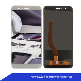 Cell Phone Display Repair Canada - Cell Phone Touch Panel Repair LCD Display For Huawei Honor v9 LCD Display Digitizer Touch Screen Assembly for honor v9 free shipping