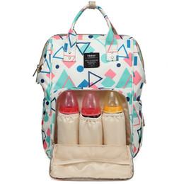 Fashion multiFunctional mummy bag online shopping - 2018 High Quality Colors New Multifunctional Baby Diaper Backpacks Mommy Handbags Mummy Back Packs Fashion Nappy Bag Maternity Backpacks