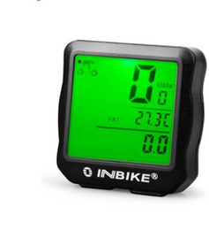 Bike code online shopping - Mountain Cycle Bike Computers Square Odometer Tachometer Wired Code Table Waterproof Noctilucan Function Cycling Counter Hot Sale fd ii