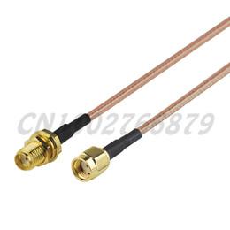 $enCountryForm.capitalKeyWord NZ - 0.5ft 15cm RF SMA Jack bulkhead to RP-SMA Plug Straight RG316 Pigtail Cable Antenna Feeder assembly Wireless Infrastructure