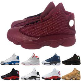 70aab80fa22c Wholesale big Discount 13s Wine Red Cat mens basketball shoes GS Hyper 3M  sneakers women Sports trainers running shoes Free Shipping