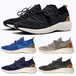 Discount full leather shoes for men - Timberland FlyRoam Go Knit Oxford boots shoes Aerocore shoes Earth color for men women hiking wilderness shoes