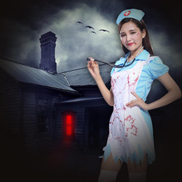 1d7b6e578b2a5 Brand New Holiday Costumes Halloween Cosplay Costumes Masquerade Parties  Nurse Parties Horror Nurse Bloody Doctor