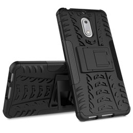 $enCountryForm.capitalKeyWord UK - Dual layer Case For Nokia 6 Case Luxury Hybrid Silicone +TPU Robot Armor Shockproof Rugged Rubber Slim Hard Phone cover for Nokia 6