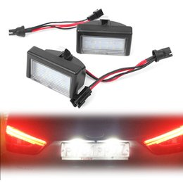 Discount mercedes license plate - For Mercedes Benz ML W164 X164X Car LED license Number Plate Light Lamp Lighting Indicators OEM Replacement CE OEM#:A452