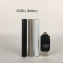 Cartuchos M6T calientes Baterías de 350 mah 510 Hilo Sin batería de botón con USB para cartucho de aceite grueso en venta