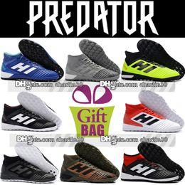 e10c42444f0d 2018 New Original High Top Predator Tango 18.3 TF IC Indoor Soccer Cleats  Turf Socks Football Boots Mens Trainers Predator Soccer Shoes