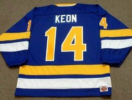 Fighting Canada - DAVE KEON Minnesota Fighting Saints 1975 WHA Turn Back Hockey Jersey All Stitched Top-quality Any Name Any Number