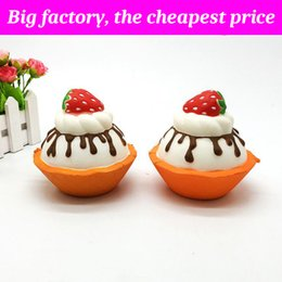 Strawberry milk online shopping - Squishy Milk strawberry cake cm cm huge Slow Rising Soft Squeeze Cute Cell Phone Strap gift Stress children toys Decompression Toy