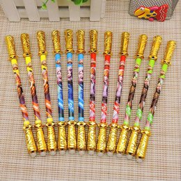 China 2pc King Glory Erasable Pen Creative Gold Hoop Bar Magic Easy To Wipe Gel Pen Children Student Stationery (Style Random) cheap liquid king suppliers