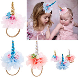 Ornament dresses online shopping - Unicorn Hair Belt Party Dress Up Head Ornaments Headband Hairs Accessories Birthday Party Favors Supplies Christmas Gift sp gg