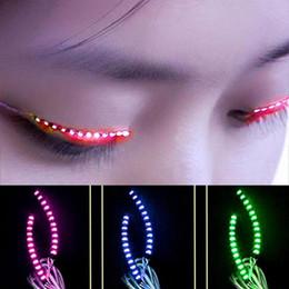 $enCountryForm.capitalKeyWord NZ - New Arrivel LED Lashes Light Waterproof Interactive False Eyelashes Lamp Luminous Eyelash Lights Hot Sale 35wm B R
